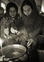 Святая вода. Крещение.(Раифский монастырь.)  Георгий Розов