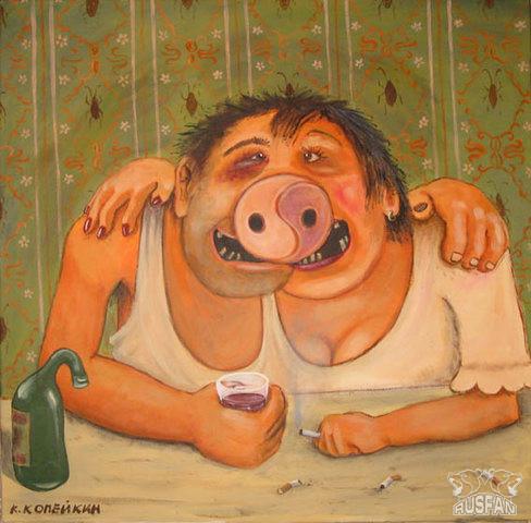 2f27335fcc - Карикатуры о суевериях и приметах