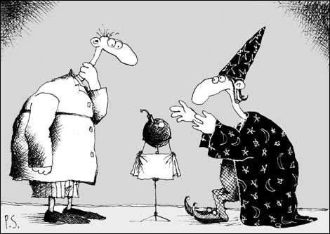 845 - Карикатуры о суевериях и приметах
