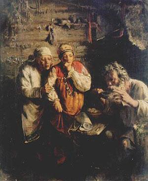 Григорий Мясоедов Знахарь