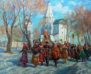 1 43 300x245 - Проблема соотношения христианского и языческого в восприятии русской традиционной культуры на примере масленичной обрядности