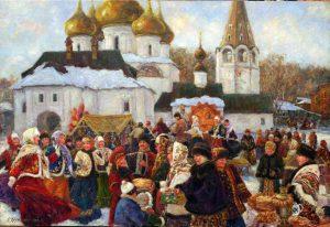 dc7ca5761b4e10220382618f16e48605 300x206 - Проблема соотношения христианского и языческого в восприятии русской традиционной культуры на примере масленичной обрядности