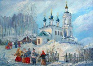 f1895 300x213 - Проблема соотношения христианского и языческого в восприятии русской традиционной культуры на примере масленичной обрядности