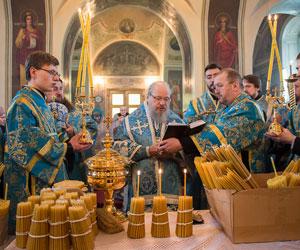 «Сретенские» свечи и чин их освящения — священник Михаил Желтов
